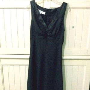 Donna Ricco Black Strap Dress